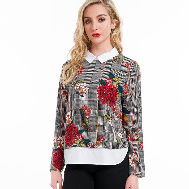 e7969364331 Купить Женская блузка-рубашка недорого