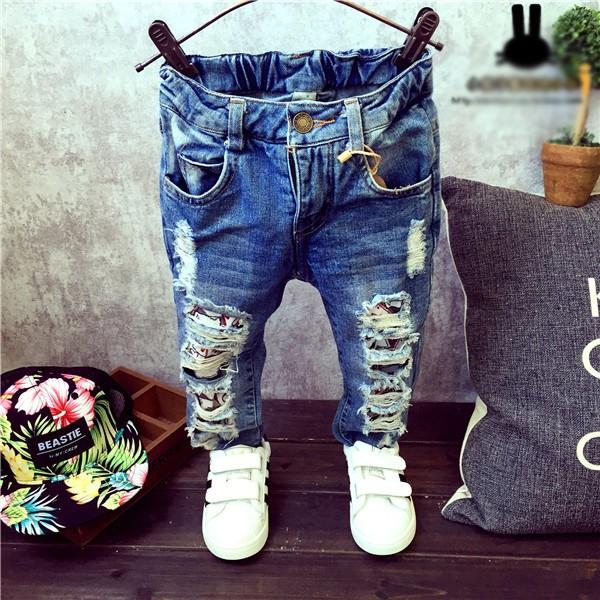 Рваные джинсы для детей