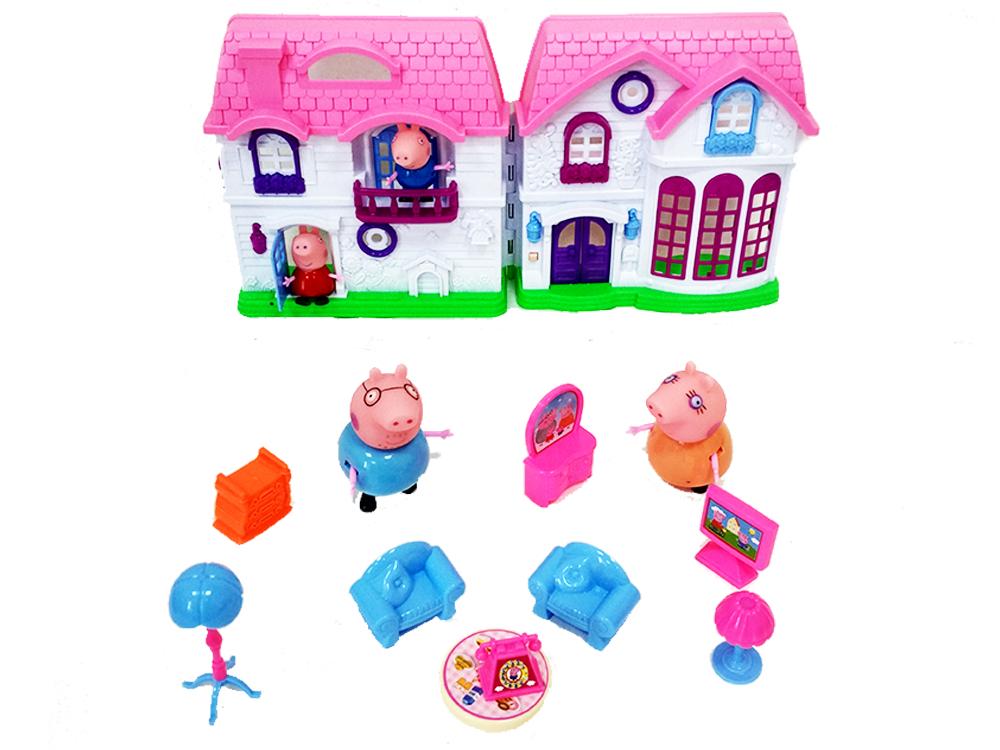 игры дом свинки